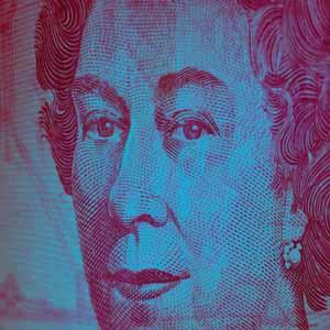 Imagen de dinero para explicar que somos una agencia de negocio digital y no sólo de branding. Es la cara de la reina de Inglaterra